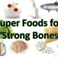 10 Super Foods pour des os solides
