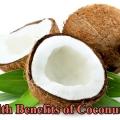 15 Services de santé de l'huile de coco