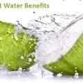 15 Services de santé de l'eau de coco