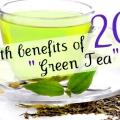 20 Avantages pour la santé du thé vert