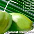 5 Bienfaits pour la santé de la noix de coco
