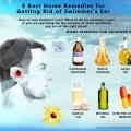 8 meilleurs remèdes maison pour se débarrasser de l'oreille du nageur