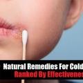 12 Remèdes maison pour l'herpès labial selon leur indice de l'efficacité