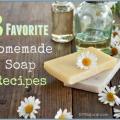 3 de nos recettes préférées de savon naturels faits maison