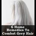 6 Accueil remèdes pour lutter contre les cheveux gris