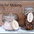 7 façons de faire vos cadeaux de bricolage plus belle