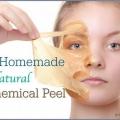 Une recette naturelle et maison peeling chimique