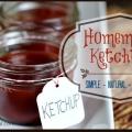 Un ketchup maison simple et délicieuse