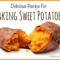 Toutes les pommes de terre à propos de Sweet & une délicieuse recette cuite