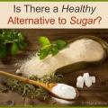 Y at-il des substituts de sucre sains là-bas?