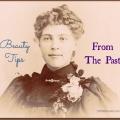 Conseils beauté du passé