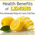 Avantages de citrons et d'une recette de mâche froide maison