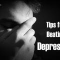 Meilleurs conseils pour battre la dépression