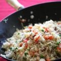 Chinoise recette de riz frit: comment faire cuire le riz frit chinois?