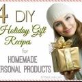 Cadeaux de Noël de bricolage 2: des produits de beauté faits maison!