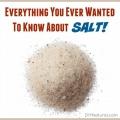 Tout ce que vous avez toujours voulu savoir sur le sel