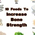 Les aliments qui vous aideront à augmenter la solidité des os