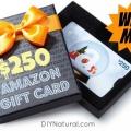 Giveaway: gagner une carte-cadeau Amazon de 250 $!
