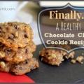 Grande recette pour des biscuits aux pépites de chocolat saine