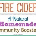 Cidre de feu maison - un rappel de l'immunité naturelle