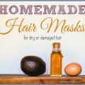 Masques capillaires maison pour cheveux secs ou abîmés