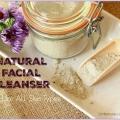 Nettoyant pour le visage naturel maison pour tous types de peau