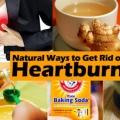 Comment se débarrasser des brûlures d'estomac et le reflux acide?