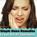 Comment se débarrasser des maux de dents avec un simple remèdes maison
