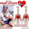 Comment survivre à une crise cardiaque quand il est seul