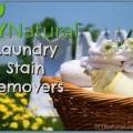 Comment traiter les taches de blanchisserie difficiles naturellement