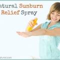 Apprenez à faire un soulagement pulvérisation coups de soleil naturel