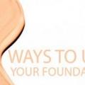 Conseils maquillage: 6 façons originales d'utiliser votre fondation