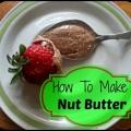 Est facile et délicieux de faire votre propre beurre de noix