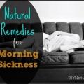 Remèdes naturels pour les nausées matinales