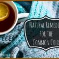 Les remèdes naturels pour traiter le rhume