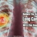 Réduire le risque de cancer du poumon avec ce légume