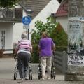 Marcheurs roulement aident patients atteints de maladies pulmonaires pied dehors plus longtemps