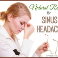Simples et naturels, les remèdes maison pour les maux de tête sinus