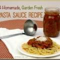 Tasty maison jardin de légumes sauce pour pâtes recette