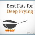 Les meilleures graisses des aliments de friture