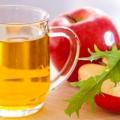 Le vinaigre de cidre pour l'eczéma - l'excellent remède naturel