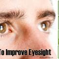 Top des aliments qui aident à améliorer la vue