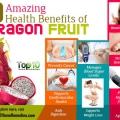 10 prestations de santé étonnants du fruit du dragon