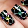 10 Superbe strass Nail Art Designs Pour essayer