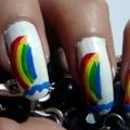 2 incroyable arc-Nail Art Tutoriels - avec des étapes détaillées et les photos