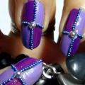 2 Nail Art Design Violet Superbe Tutoriels - avec des étapes détaillées et les photos