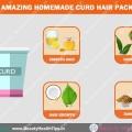 4 paquets de cheveux de caillé maison étonnants