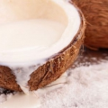 6 Services de santé de noix de coco lait en poudre