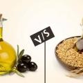 7 Différences entre le riz l'huile de son et huile d'olive