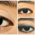 Incroyable Maquillage des yeux Avec Kajal - tutoriel étape par étape avec des images